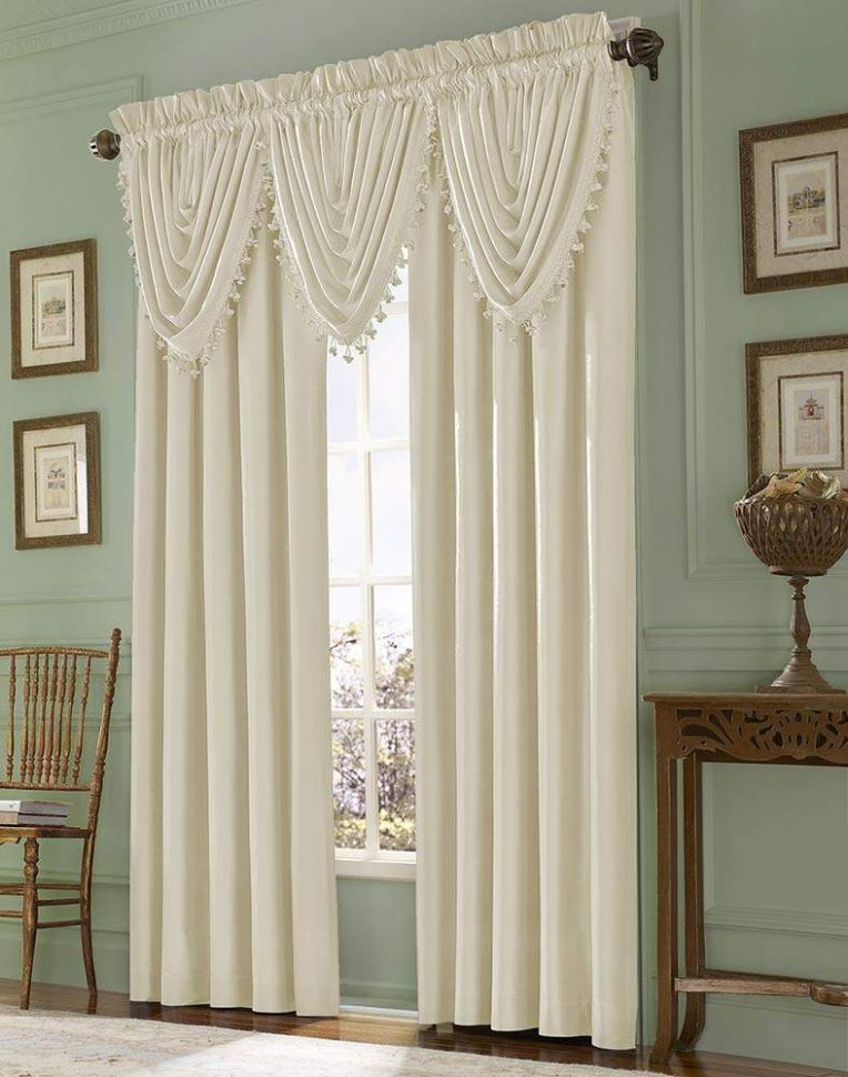 10 window valance curtains for the interior design of your home - window valance ideas for dining room