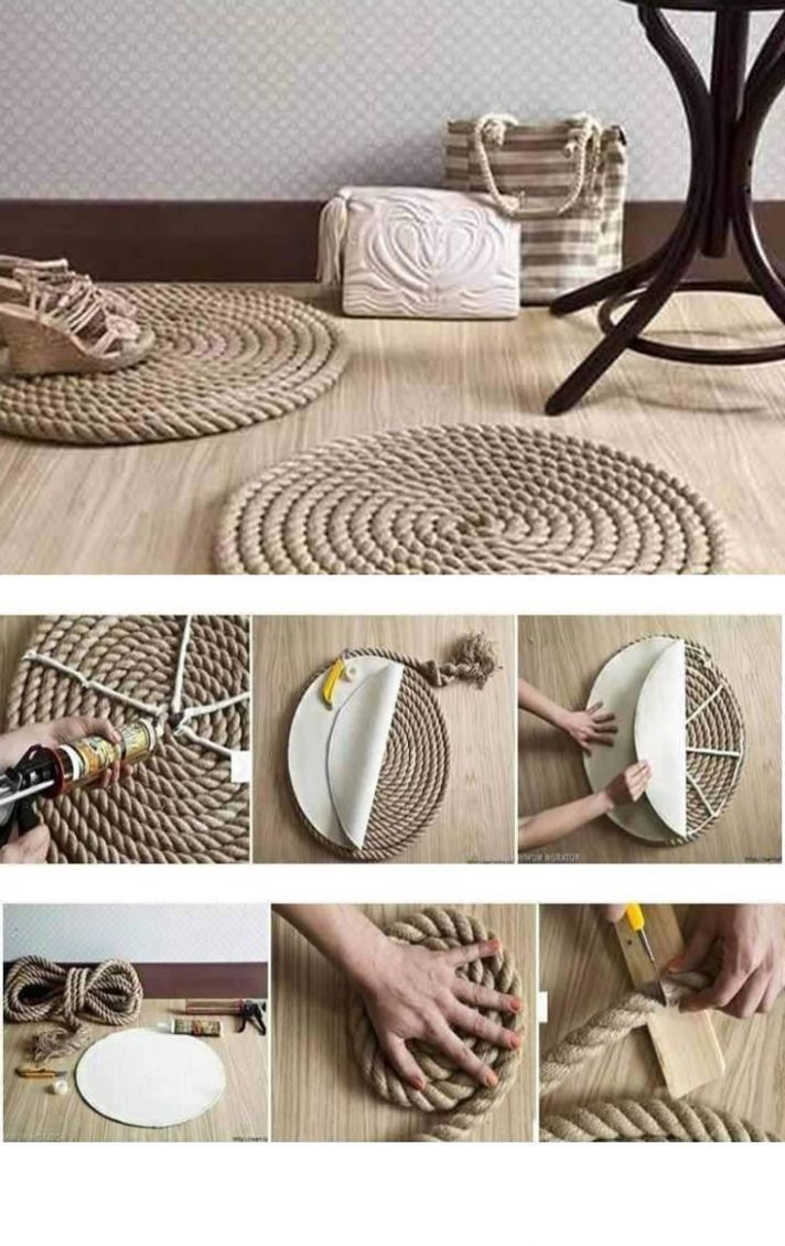 100 Awesome DIY Crafting Ideas For Working With Ropes 10 | Diy ...