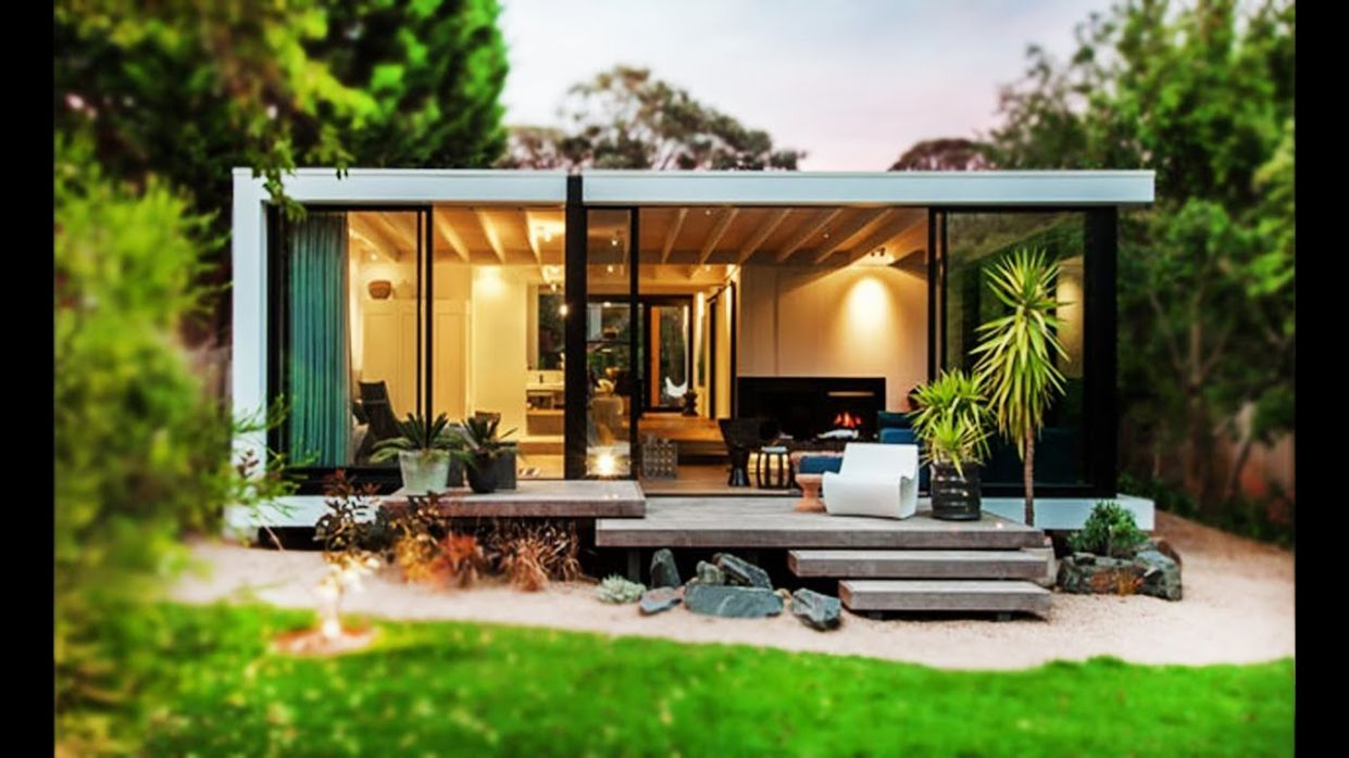 11,11 m² Design A Small House Modern In Australia Was Draws Inspiration From  Japanese Architecture