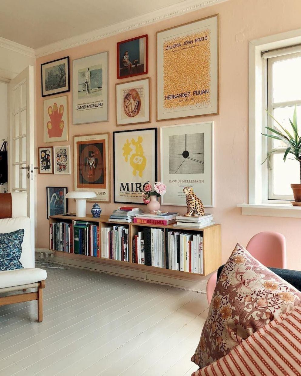 11+ Artful Gallery Wall Decorating Ideas. If you a in 11 | Retro ..