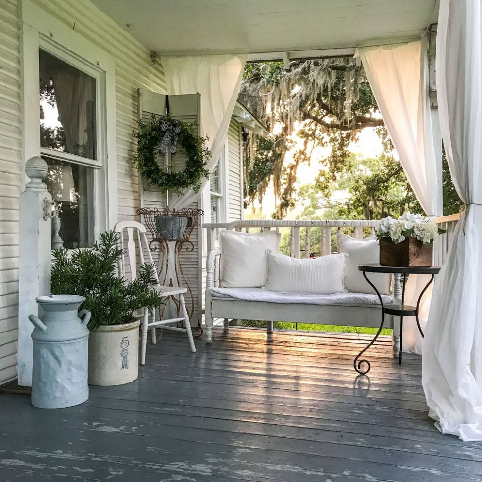 11+ Astonishing Small Front Porch Ideas For Summer - TRENDUHOME - front porch decor for summer