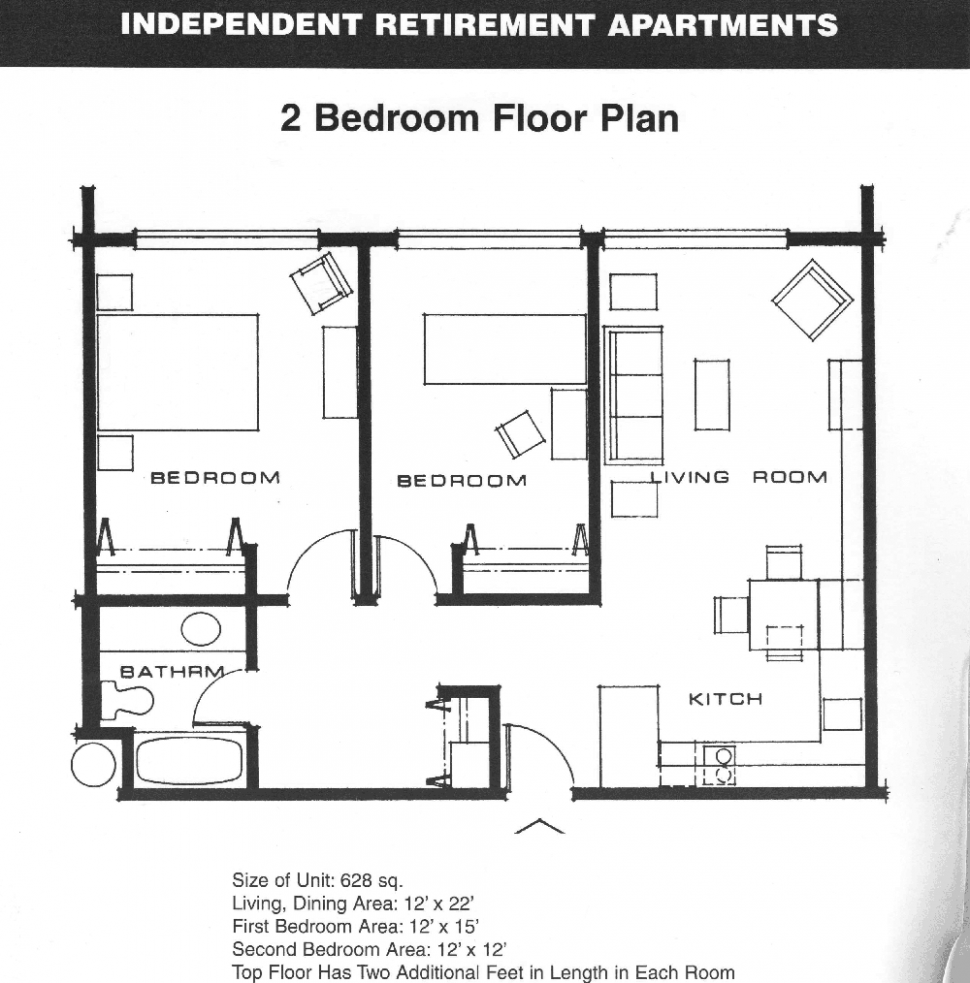 11 Bedroom Apartments Floor Plan Small Apartment Plans   Small ..