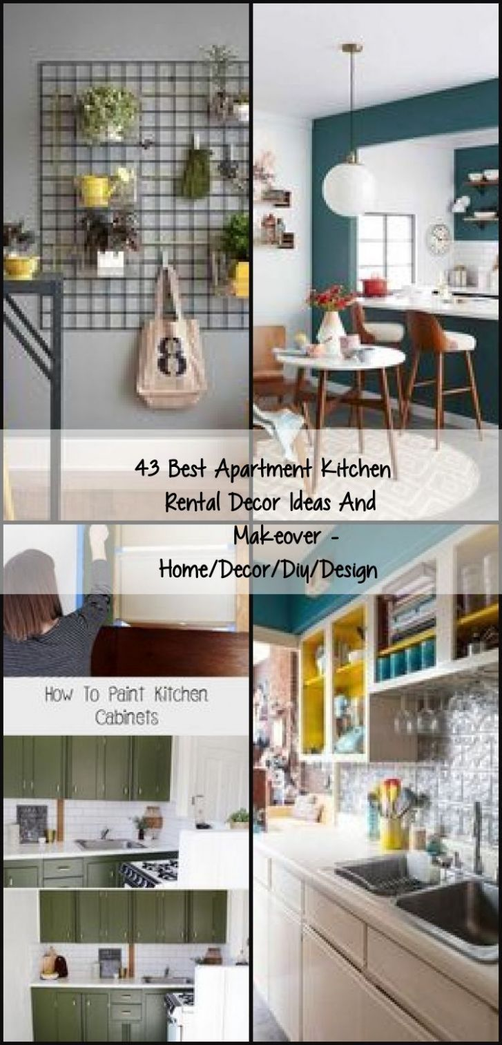 11 Best Apartment Kitchen Rental Decor Ideas And Makeover Home ...