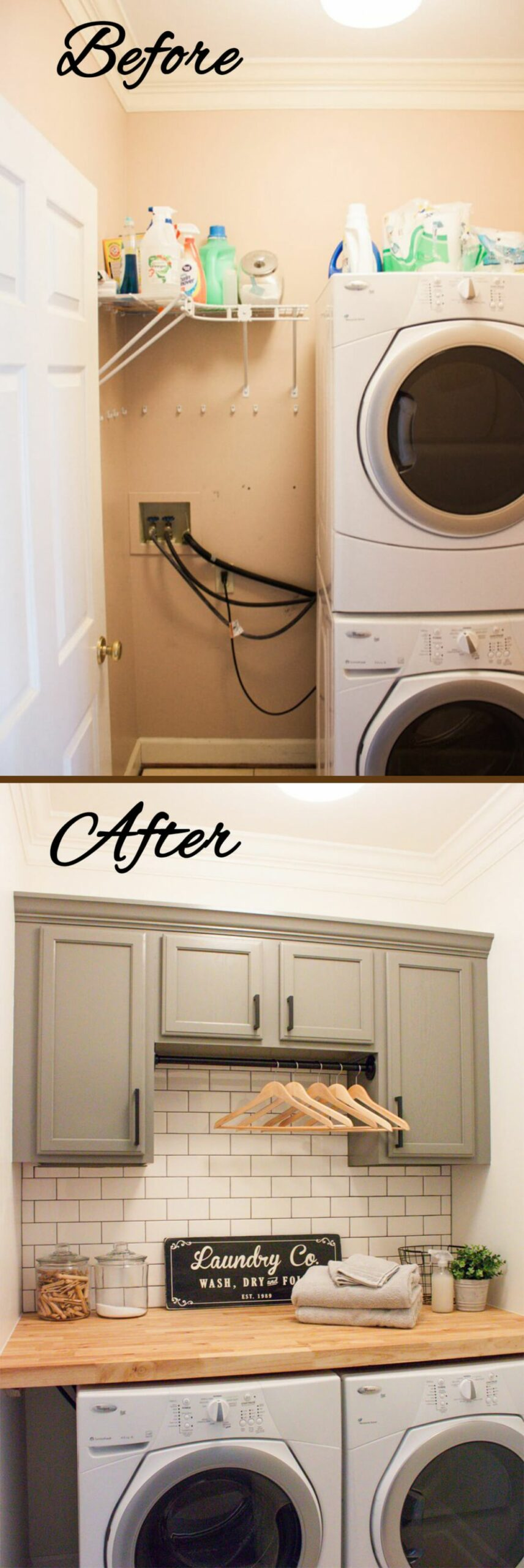 11 Best Budget Friendly Laundry Room Makeover Ideas and Designs ..