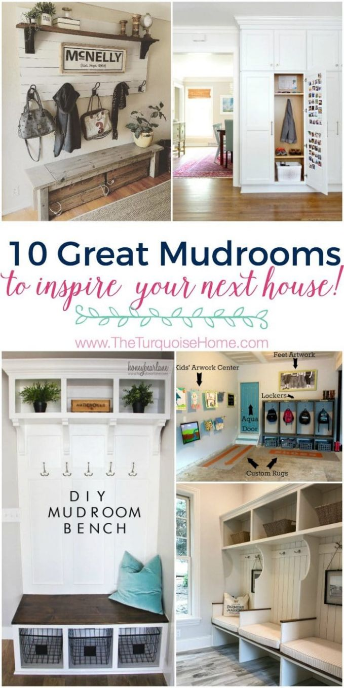 11 Best Mudroom Ideas | The Turquoise Home