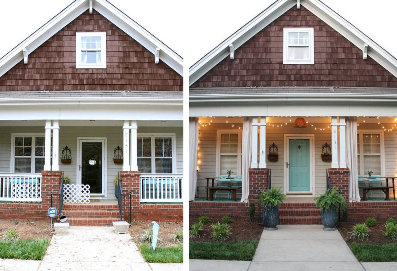 11 Best Porch Makeover Ideas and Projects for 11 - front porch upgrade ideas