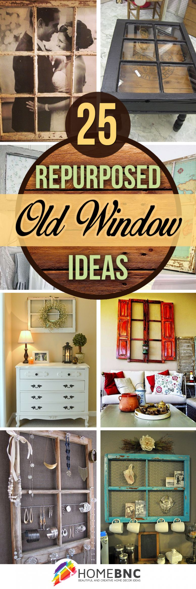 11 Best Repurposed Old Window Ideas and Designs for 11