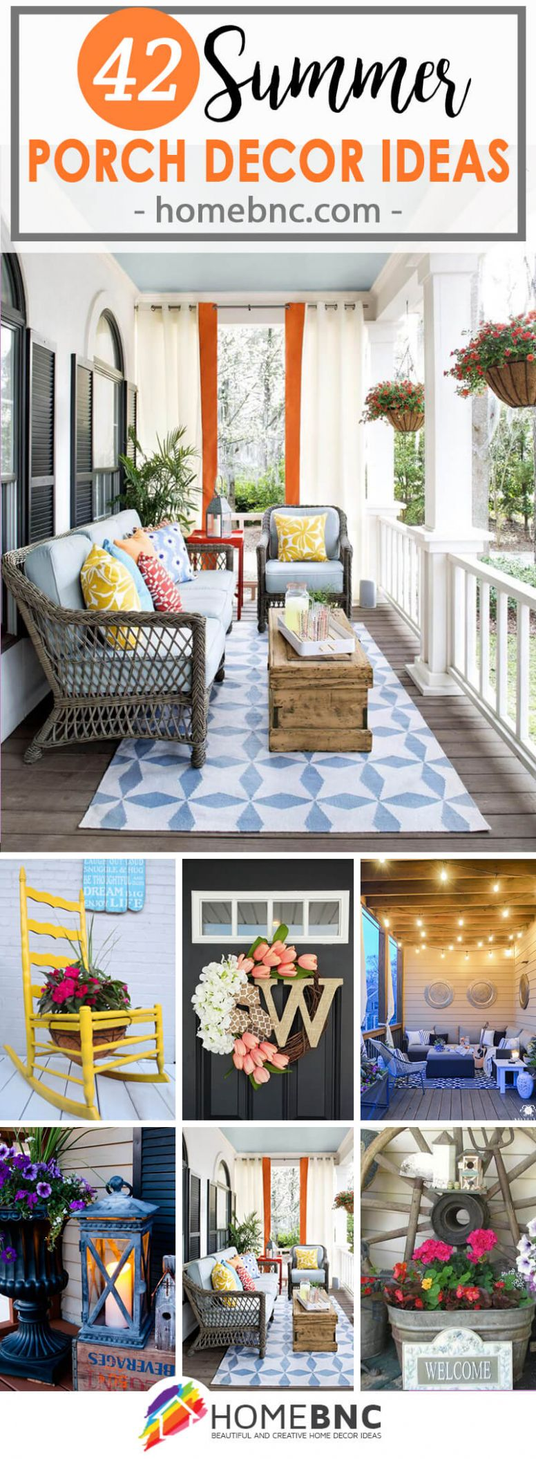 11 Best Summer Porch Decor Ideas and Designs for 11 - front porch decor for summer
