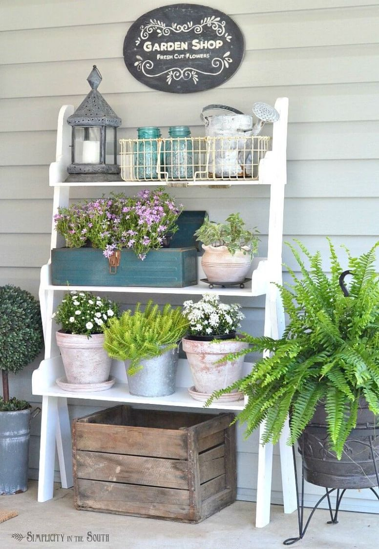 11 Best Summer Porch Decor Ideas and Designs for 11 - front porch decor with bench