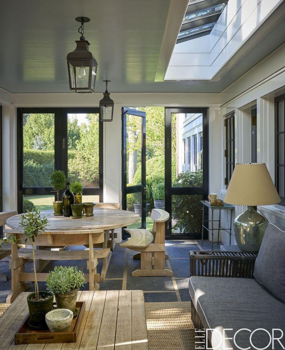11+ Best Sunroom Ideas - Screened in Porch & Sunroom Designs - vintage sunroom ideas