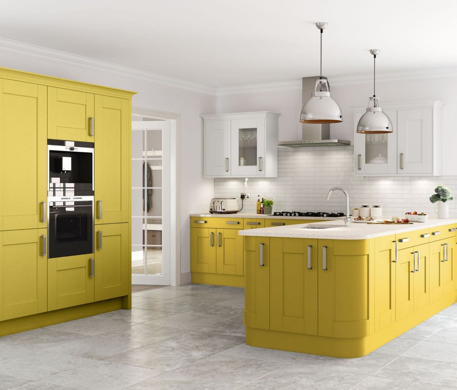 11 bold and beautiful kitchen colour ideas | Kitchen cabinets ...