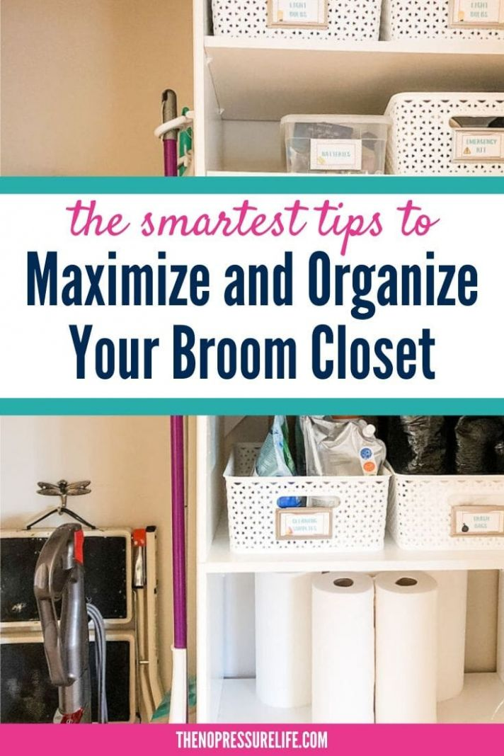 11 Broom Closet Organization Ideas to Simplify Your Cleaning Routine - vacuum closet ideas