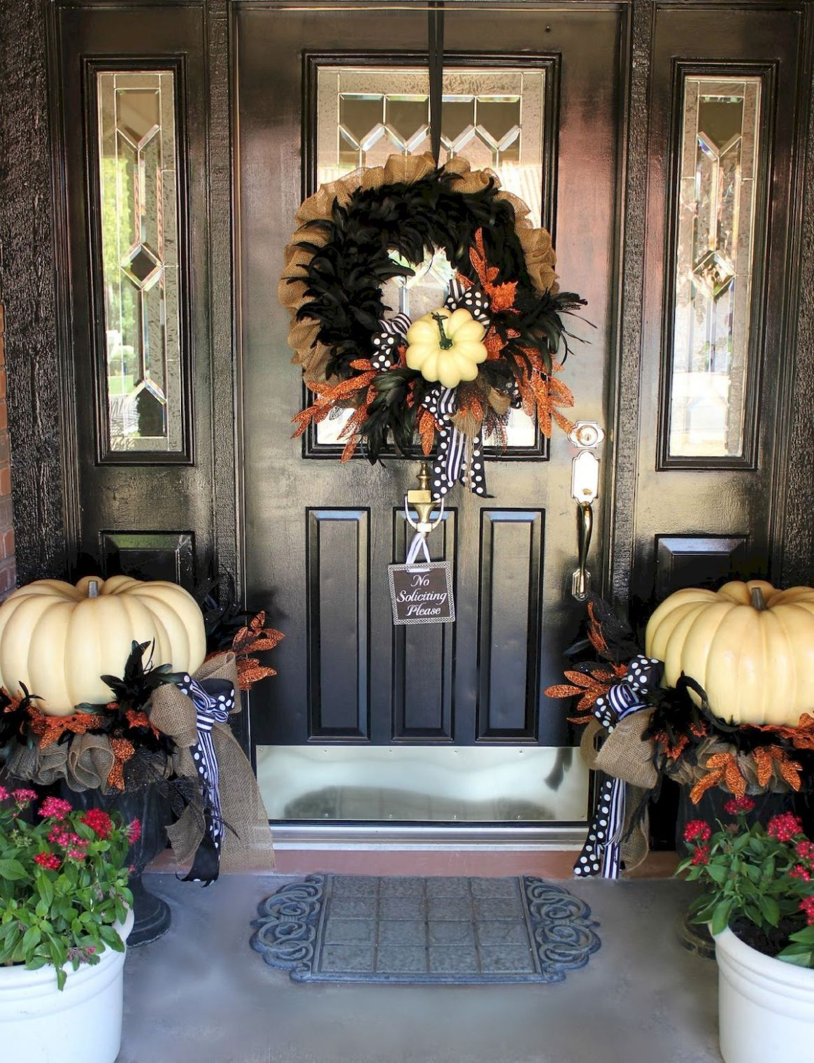 11 Christmas Front Porch Decor Ideas And Remodel | Fall decor ..