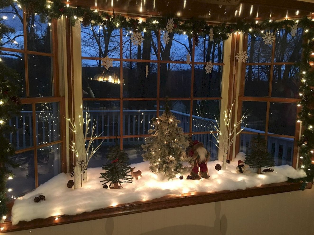 11 Christmas Village Window Display Ideas – Home to Z | Christmas ..
