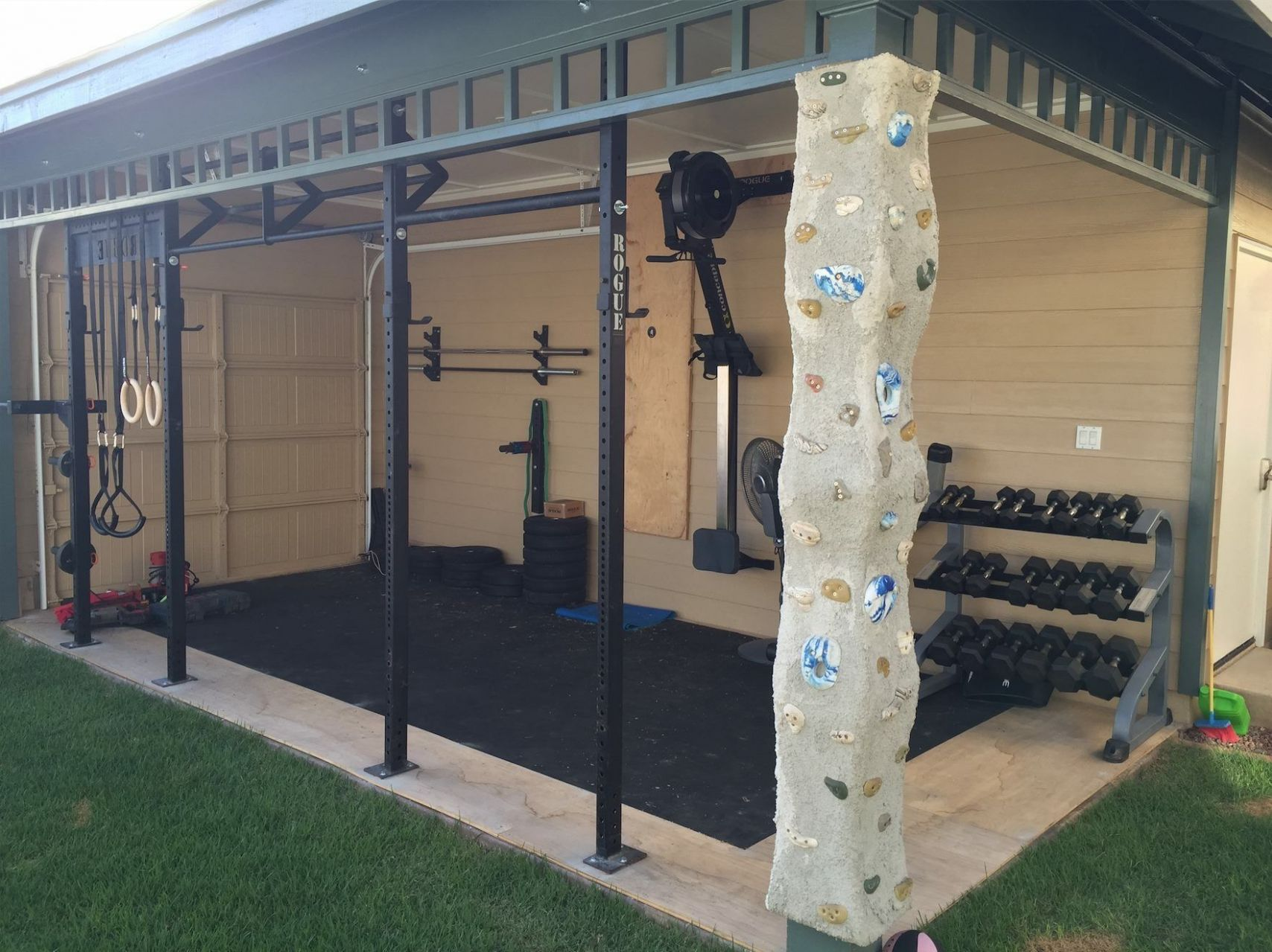 11 Clever Concepts of How to Craft Backyard Gym Id | Fitnessstudio ..