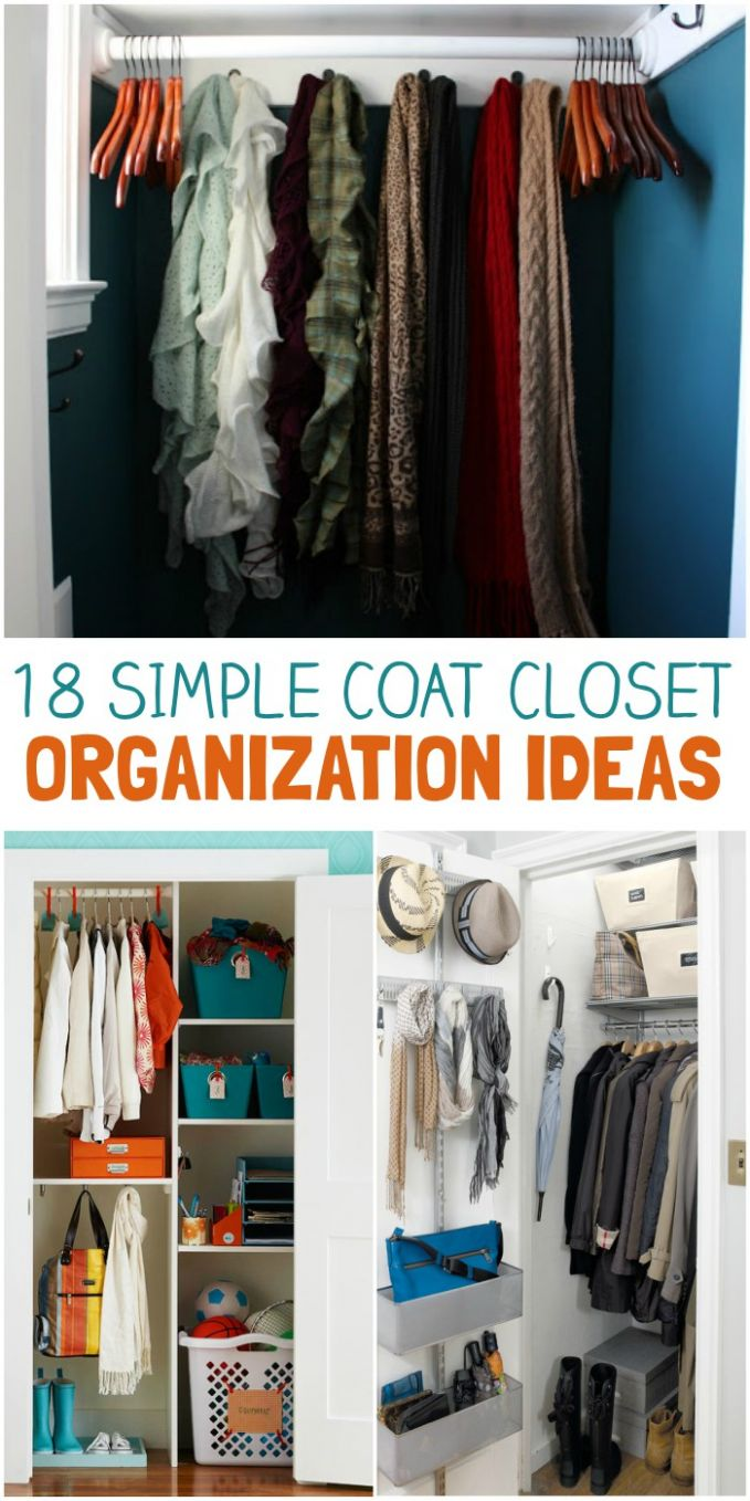 11 Coat Closet Organization Tricks for Busy Families