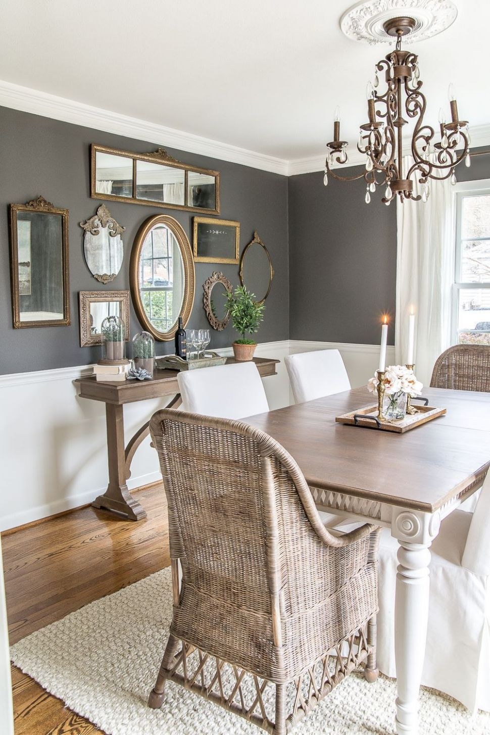 11 Cool Farmhouse Dining Room Decor Ideas | Eclectic dining room ..
