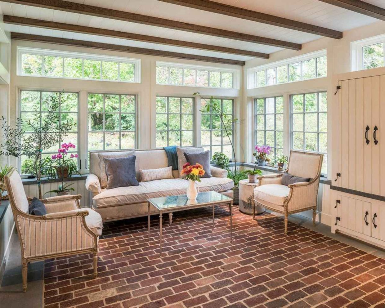 11 Cozy Modern Sunroom Decor Ideas - frontbackhome - modern sunroom ideas with pictures