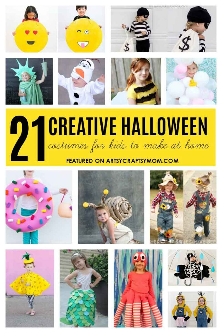 11 Creative And Easy Last Minute Halloween Costumes for kids - halloween question ideas