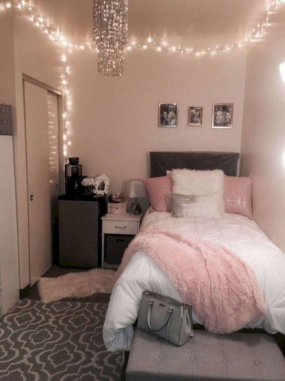 11 Cute Dorm Room Decorating Ideas on A Budget | Small room ..