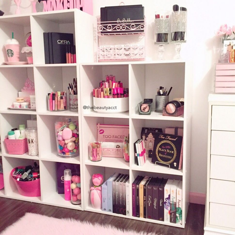 11+ DIY Makeup Room Ideas, Organizer, Storage and Decorating ..