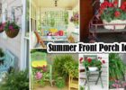11 DIY Summer Front Porch Ideas