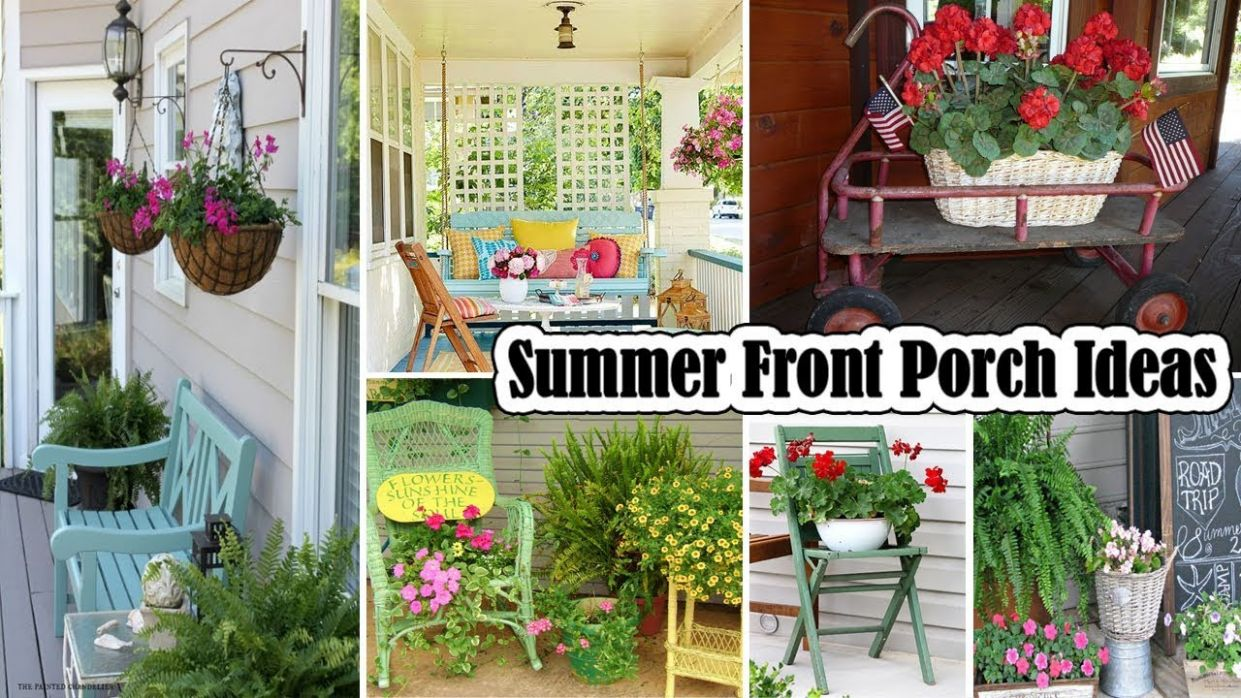 11 DIY Summer Front Porch Ideas - front porch ideas diy