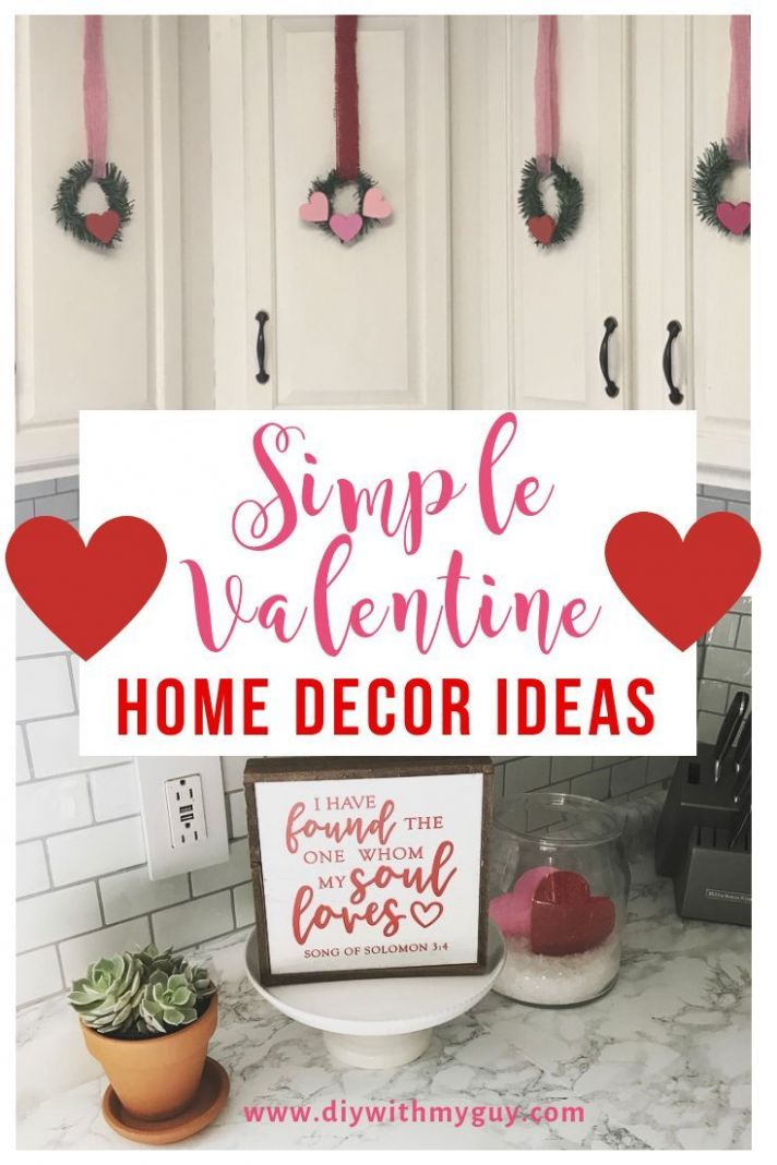 11 Easy Valentine's Day Home Decor Ideas | Decor, Diy hanging ...