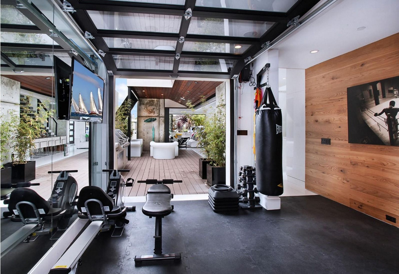 11 Fancy Home Gym Design Ideas That You've Never Seen (Photographs ...
