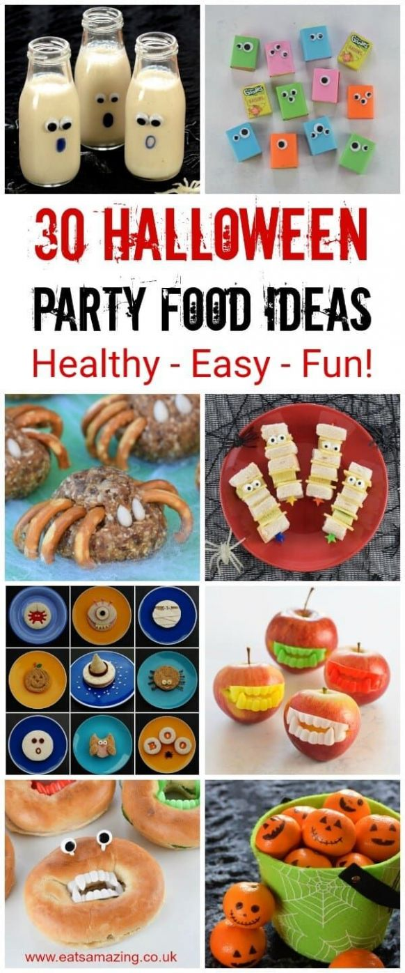 11 Healthy Halloween Party Food Ideas for Kids | Halloween food ...