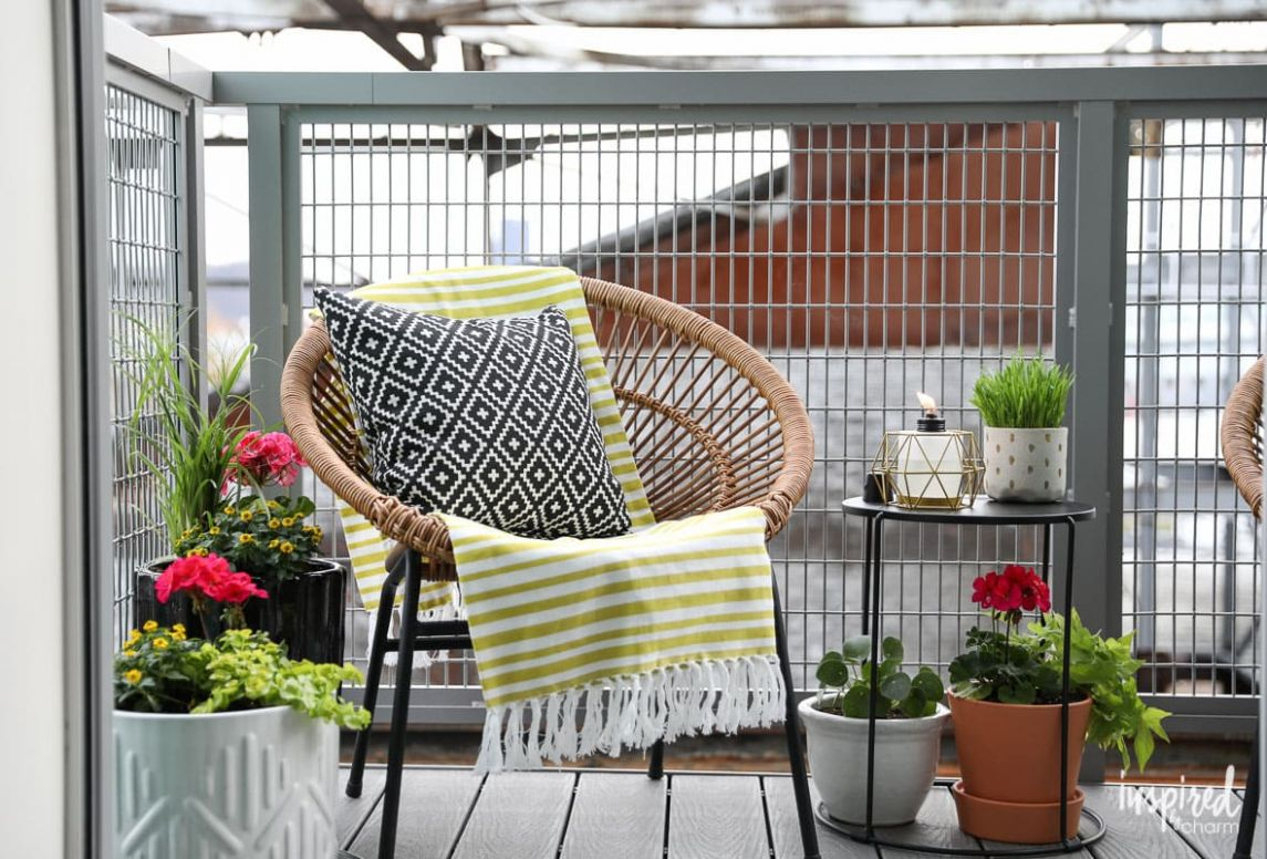 11 Ideas to Add Big Style to a Small Balcony or Patio