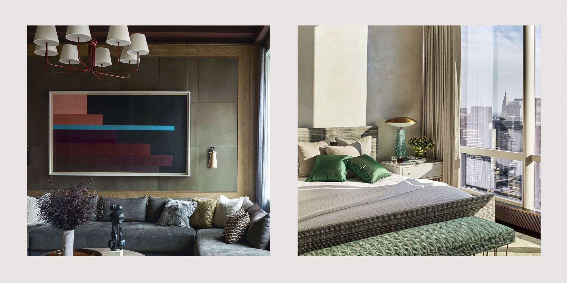 11 Impossibly Chic Olive Green Paint Color & Decor Ideas