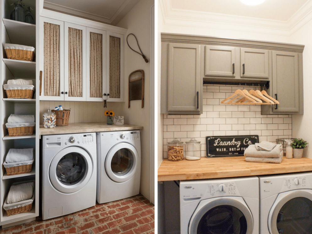 11 Inspiring Small Laundry Room Ideas - Love & Renovations