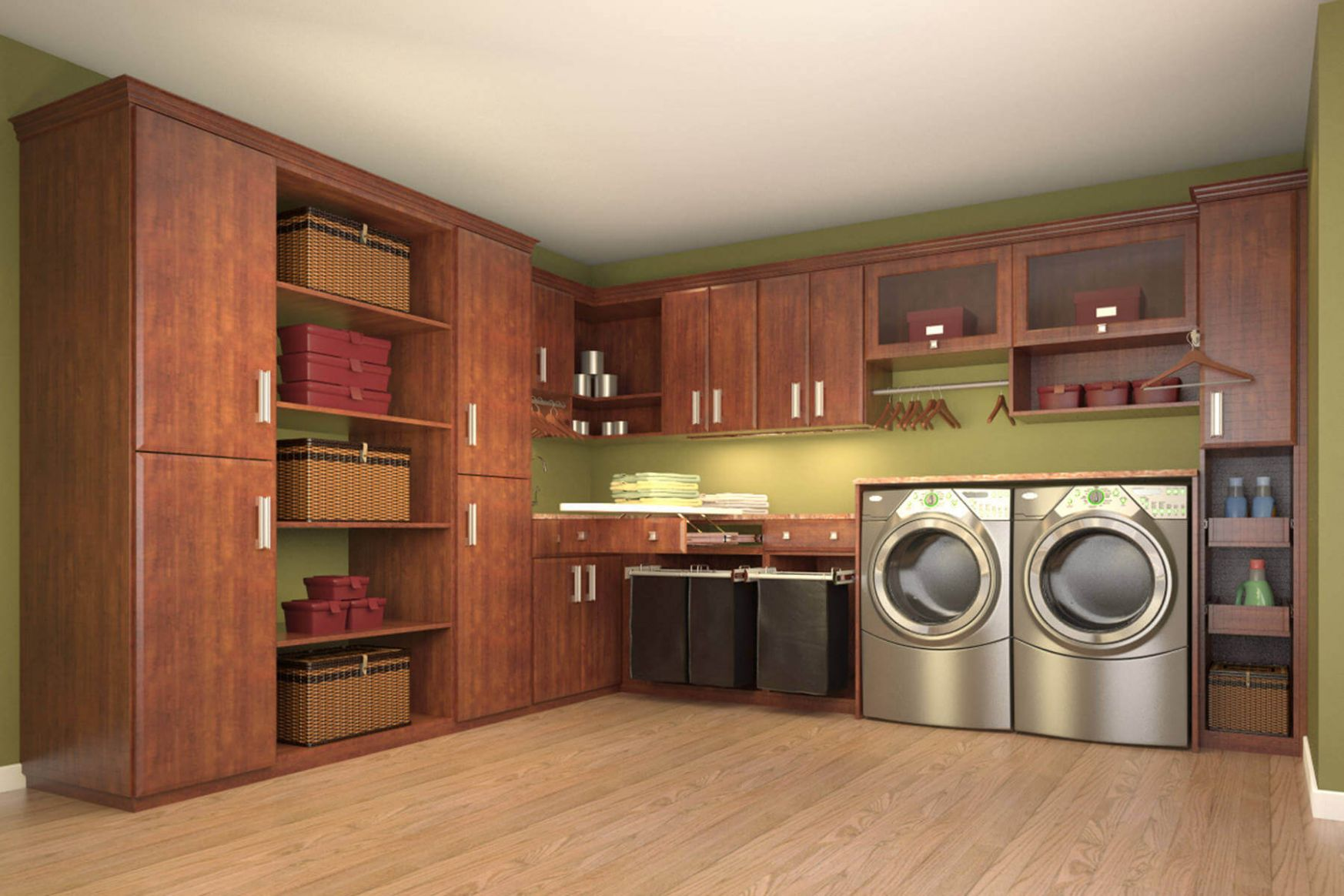 11 Laundry Room Ideas (Photos) - laundry room ideas in closet