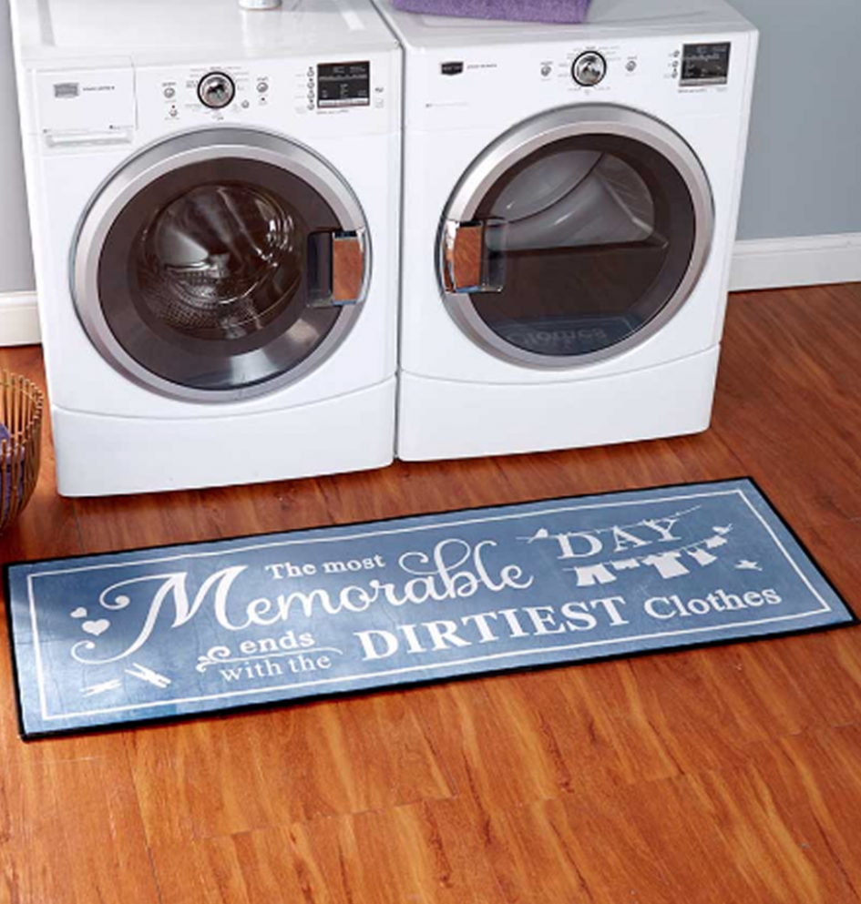 "11"" Laundry Room Rugs And Decor Runners For Hardwood Floors"