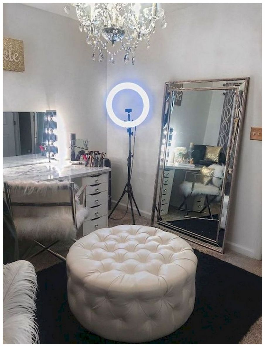 11+ Lovely Makeup Rooms Decor Ideas And Remodel · Bilimsi