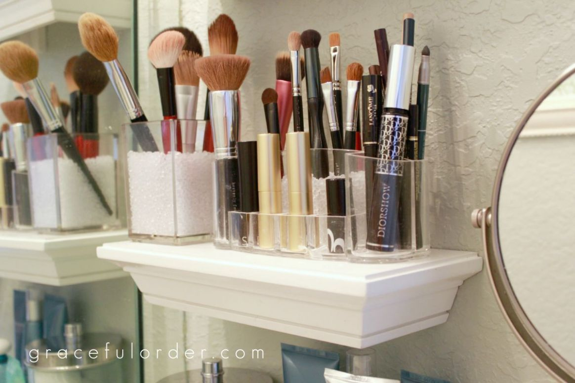 11 Makeup Storage Ideas That Will Have Both the Bathroom and ..