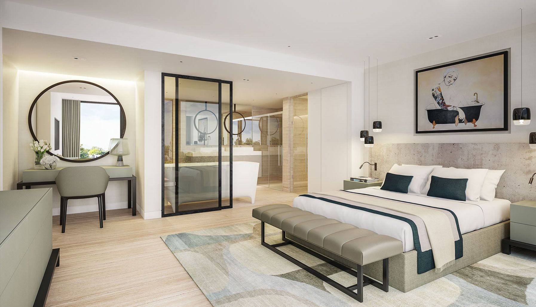 11 Master Bedroom Ensuite Designs, 11 Beautiful Master Bedroom ...