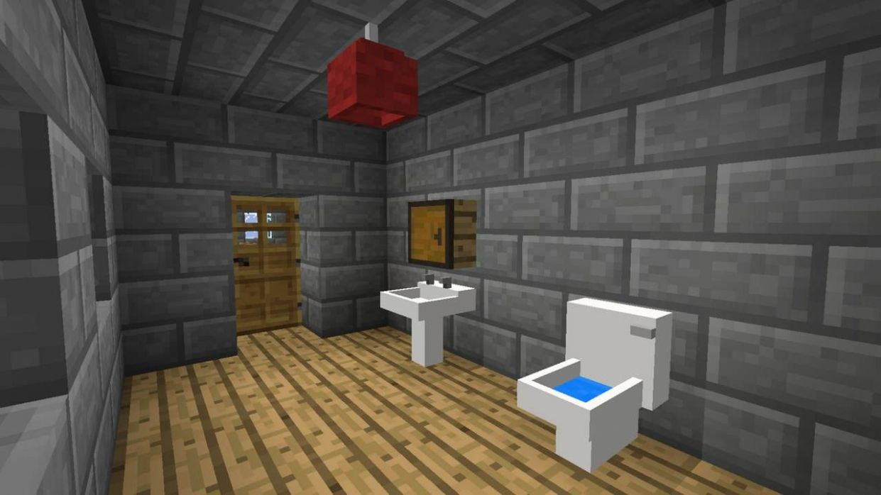 11+ Minecraft Bathroom Designs, Decorating Ideas | Design Trends ..