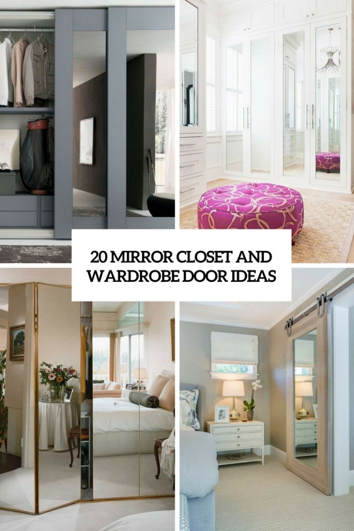 11 Mirror Closet And Wardrobe Doors Ideas - Shelterness - closet ideas doors
