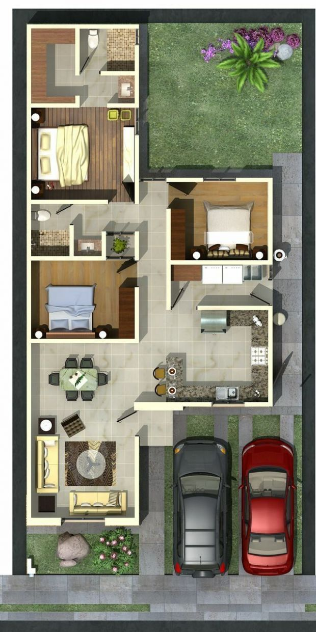 11 Modern House Plan Designs Free Download | House layouts ...