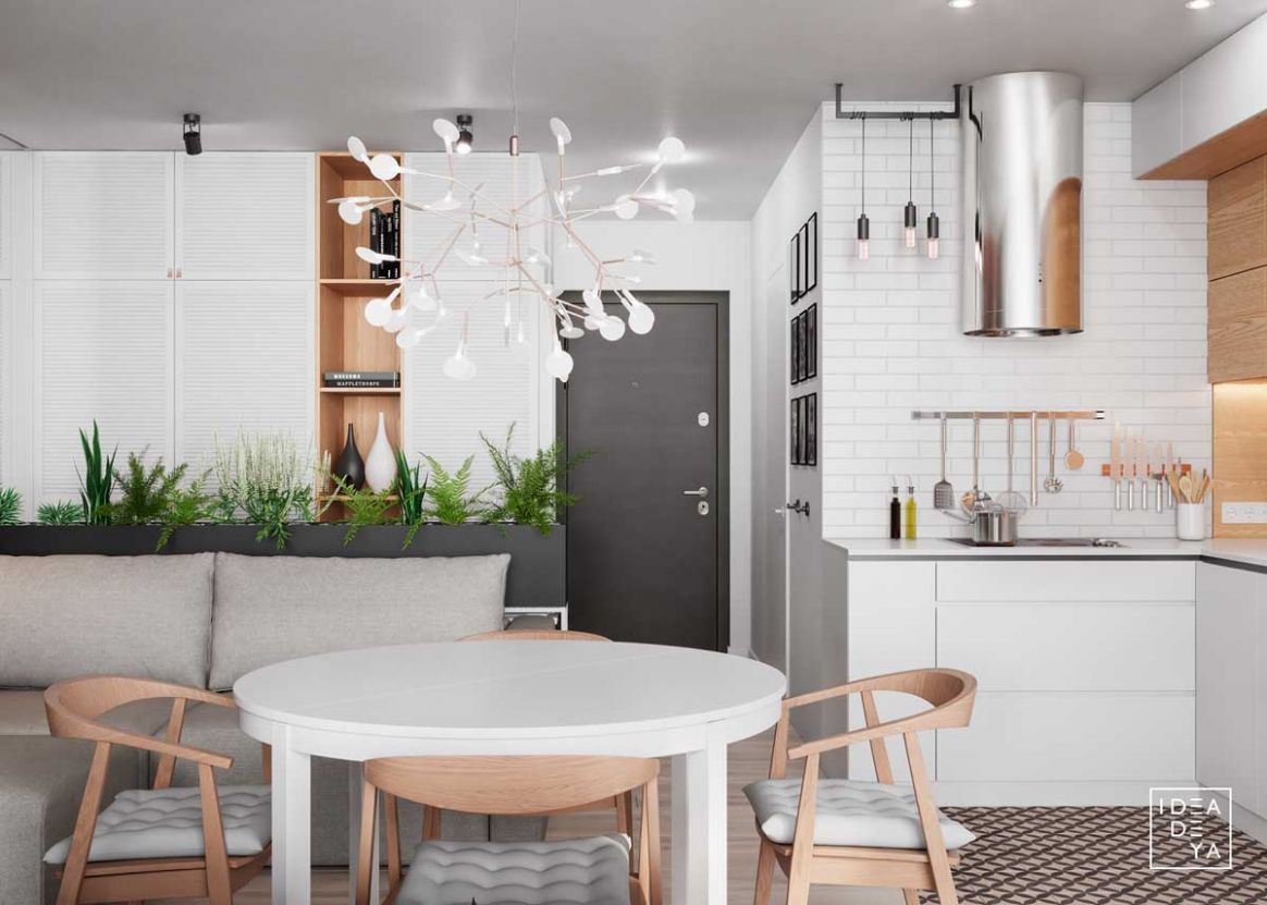 11 Modern Small Apartment Designs Under 11 Square Meters That Don't ...