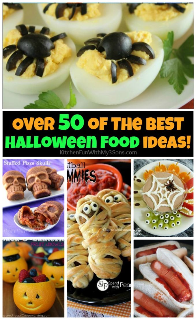 11+ of the Best Halloween Food Ideas - Kitchen Fun With My 11 Sons
