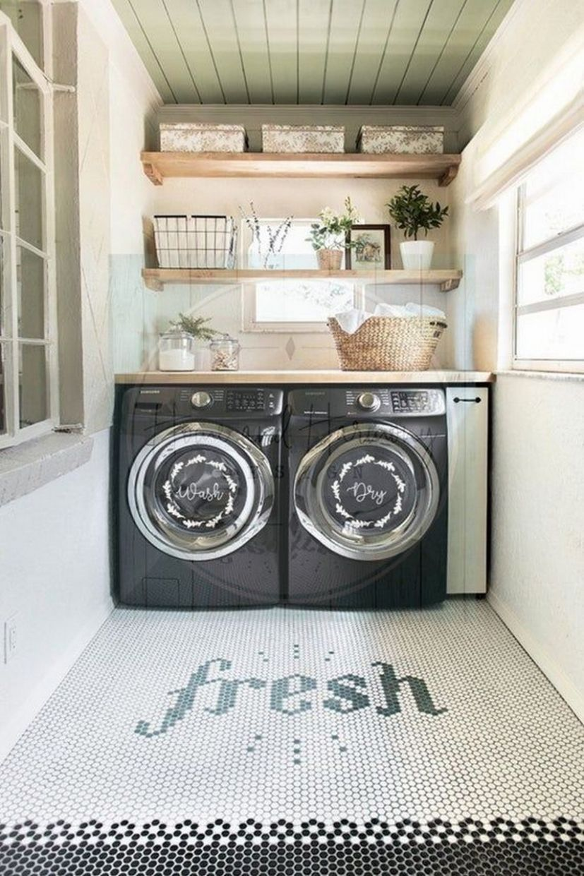 11+ Perfect Laundry Room Designs Ideas For Small Space ~ feryhan