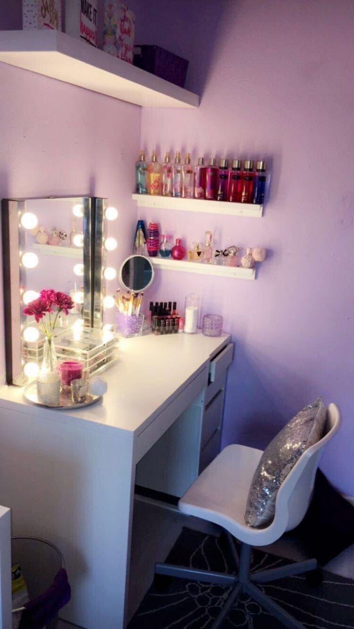 11+ Perfect Makeup Room Ideas for Makeup Lovers | Raumdekoration ..