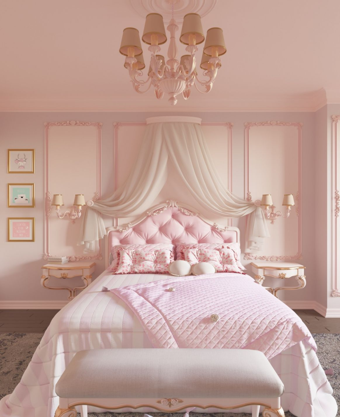 11 Pink Bedrooms With Images, Tips And Accessories To Help You ...