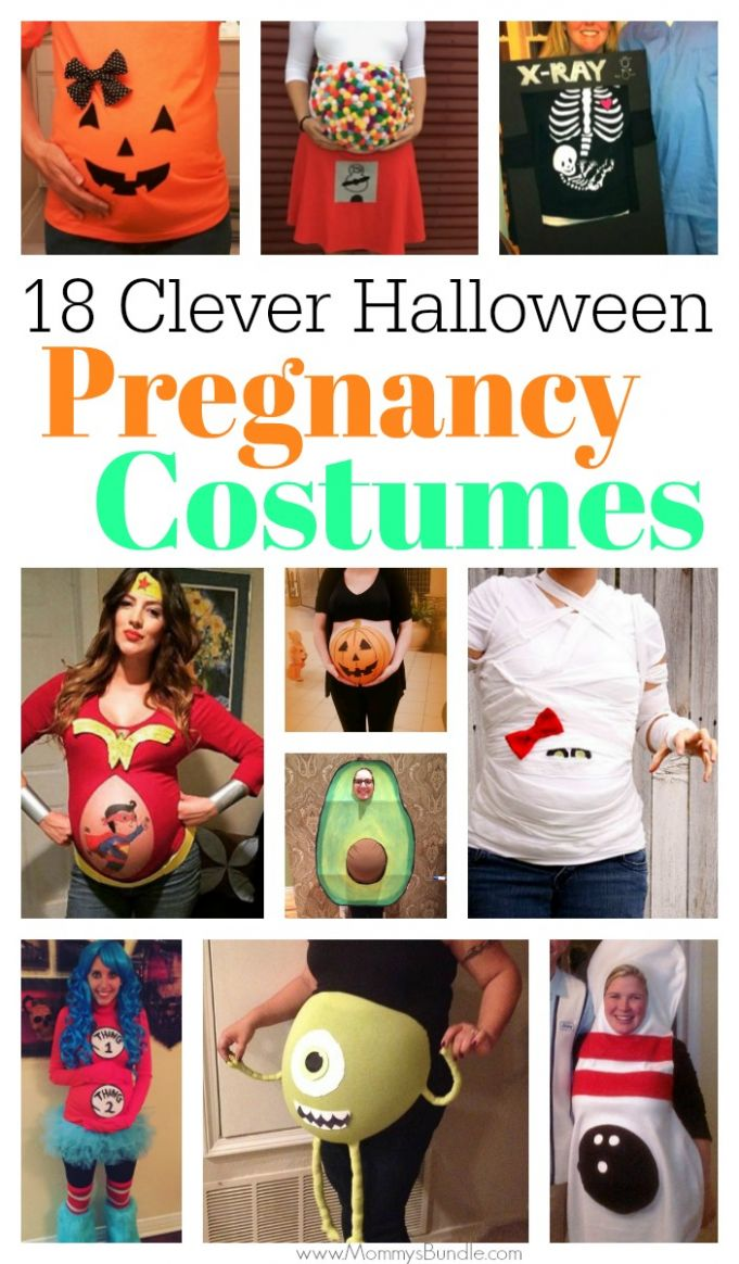 11+ Pregnant Halloween Costumes: From First Trimester to Third ...