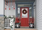 11 Rustic DIY Christmas Decor Ideas for Front Porch