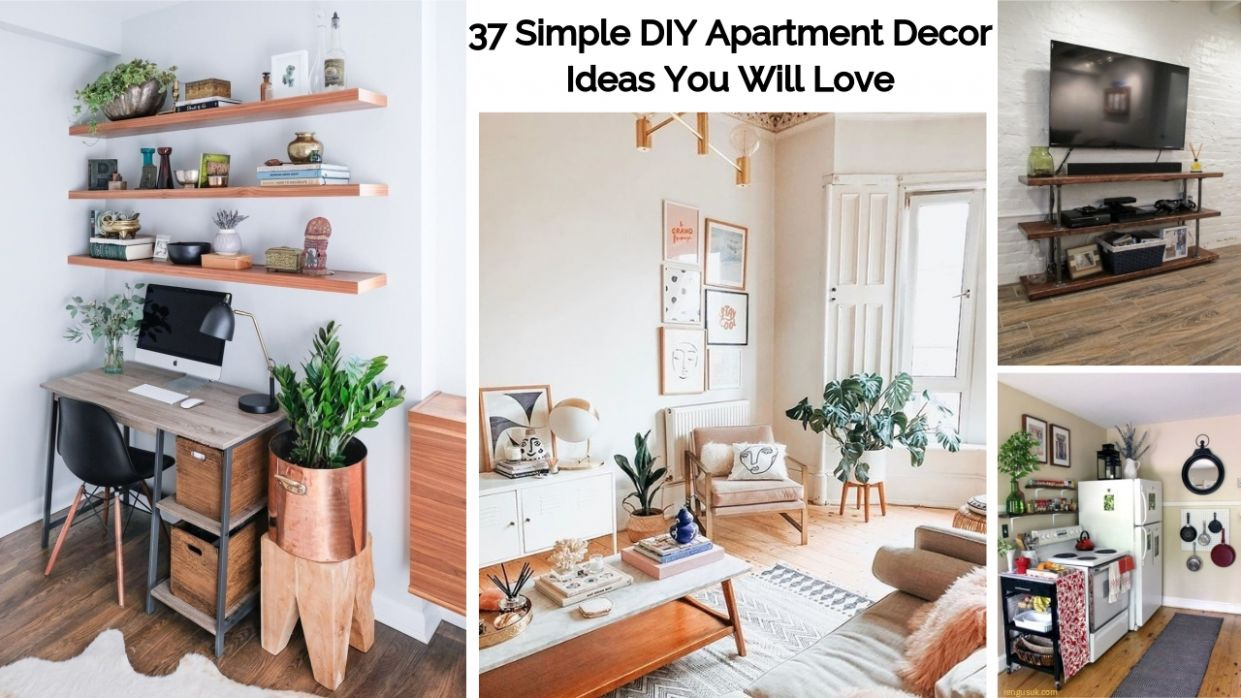 11 Simple DIY Apartment Decor Ideas You Will Love - rengusuk.com