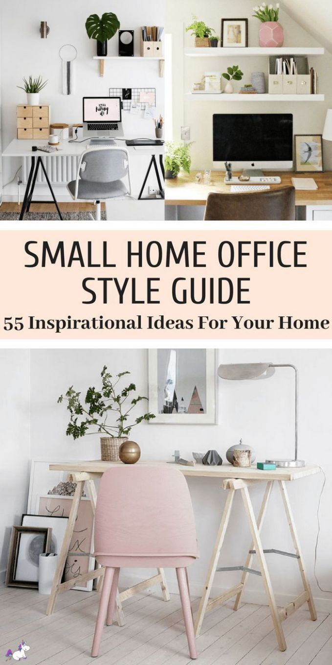 11 Small Home Office Ideas That Will Make You Want To Work ...